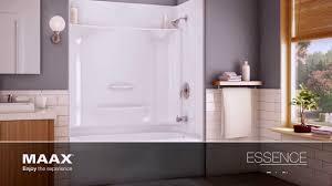 maax shower door installation video essence series maax bath inc youtube