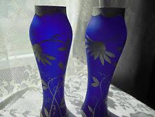 Cobalt Blue Vases Czechoslovakia Vase Ebay