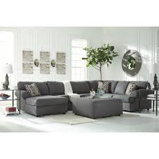 Ashley Furniture Living Room Ashley Furniture Jayceon Laf Chaise Sectional In Steel Local