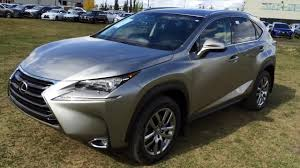 lexus nx 200t awd review new atomic silver 2015 lexus nx 200t awd luxury package in depth