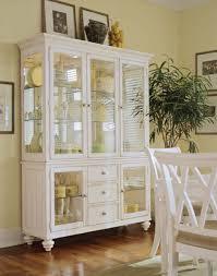 camden white china hutch by american drew kitchen furniture