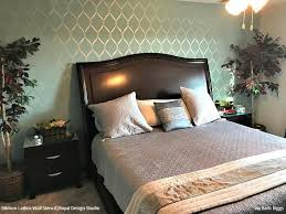wall stencils for bedroom ribbon lattice wall stencils for decorating home decor royal