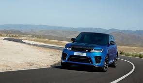 range rover sport blue 2018 range rover sport svr facelift looks ready to rumble