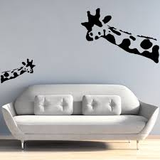 banksy wall decal wait what giraffe wall stickers banksy