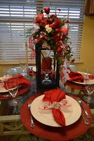 Valentines Day Table Decor by Valentine Days Cool Dinner Napkin Pattern For Dining Table