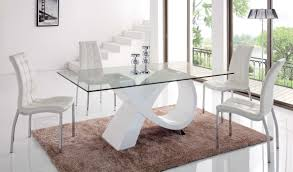 989 table and 365 chair white modern casual dining sets dining