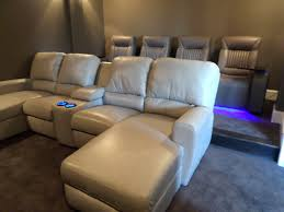 row one home theater seating leather sofas mccabe u0027s theater and living