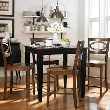 contemporary dining room table with leaf design extend a dining