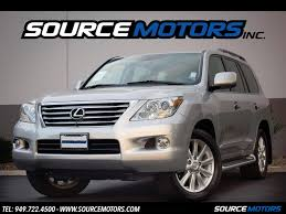 lexus lx 570 engine for sale 2008 lexus lx 570 for sale in orange county ca stock 10461