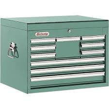 10 Drawer Cabinet 10 Drawer Full Depth Tool Chest Grizzly Industrial