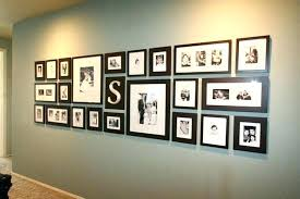 how to hang photo frames on wall without nails wall photo collage without frames hanging pictures without frames