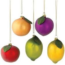 fruit ornaments rainforest islands ferry