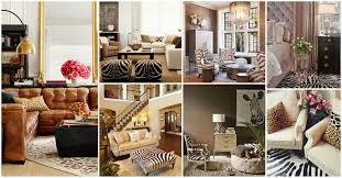 animal print interior decor for a natural look of your home idolza