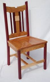 Cherry Dining Chair Purple Cherry And Birdseye Maple Dining Chair Rugged