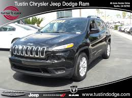 2017 jeep cherokee sport used car truck u0026 suv specials tuttle click u0027s tustin chrysler
