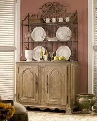 bakers rack with cabinet wrought iron bakers rack and rustic wooden cabinet also modern
