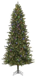pre lit virginia pine artificial tree color changing