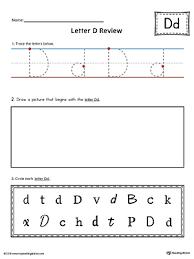 free worksheets printable letter d worksheets free math