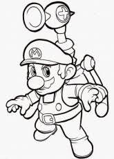 super mario bros 3d coloring pages sketch coloring