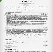 Electrical Engineering Resume Examples Download Electrical Engineering Resume Haadyaooverbayresort Com