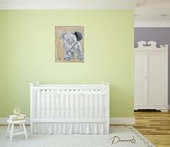 tableau déco chambre bébé tableau déco jules l éléphant en peluche enfant bébé tableau