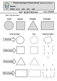 113 free esl shapes worksheets