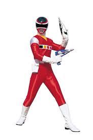 power rangers space red ranger red rangers