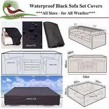 Waterproof Sofa Cover by Waterproof Sofa Set Cover Garden Outdoor Patio 2 12 Seater Corner