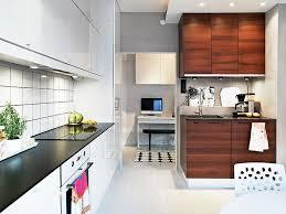 small kitchen design breakfast bar nickel chrome swing panel