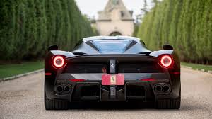 laferrari back laferrari in matte black auctioned for 4 7 million drivers magazine