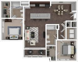 floorplans the village at lakeshore crossings 1 2 3 bedroom 2 bedroom 2 bathroom floor plan layout with 1 202 square feet spacious open