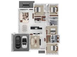 floor plans for 4 bedroom houses apartment 4 bedroom modest decoration house plans apartment 4