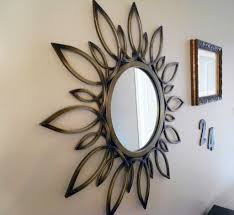 remarkable design mirrored star wall decor opulent ideas three