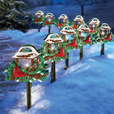 outdoor christmas decorations new used large ebay