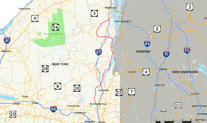 Lake Placid New York Map by New York State Route 9n Wikipedia