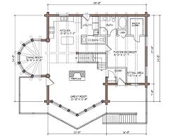 open floor plan log homes colorado log home plan by lodge logs