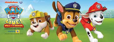 paw patrol live race rescue microsoft theater
