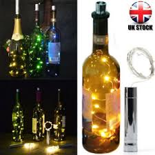 20 led bright white bottle light kit fairy lights battery