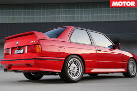 Bmw M3 1991 - 30 years of bmw m3 e30 evolution ii motor