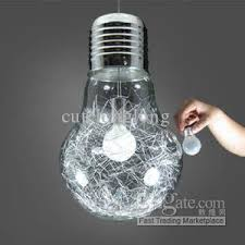 discount 25cm stylish big bulb modle dining roo l ceiling