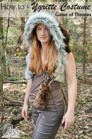 Game Thrones Halloween Costume Ideas Game Thrones Ygritte Wildling Costume Costumes Gaming