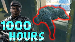 look siege social what 1000 hours of capitao experience looks like rainbow six siege
