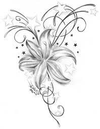 20 black and white iris tattoo designs