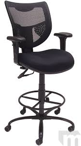 400 lb Capacity Mesh Back Drafting Stool for Standing Desks