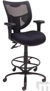 400 lb Capacity Mesh Back Drafting Stool for Standing Desks