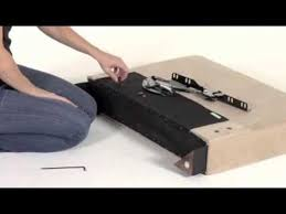 Convert A Couch Sleeper Sofa by Handy Living Convert A Couch Assembly Youtube