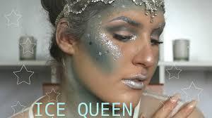 ice queen halloween makeup tutorial youtube