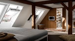 Schlafzimmer Verdunkeln Dachausbau Ideen Für Schlafzimmer Velux Dachfenster