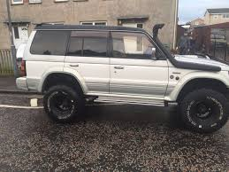 mitsubishi pajero off roader swap van in charing cross glasgow