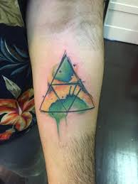 my new jamaican flag triforce tattoo http ift tt 2jeuknt zelda